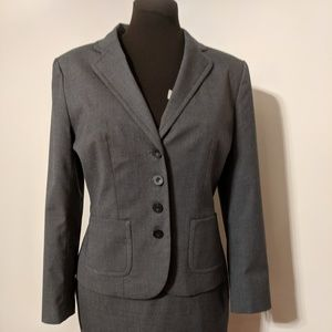 Halogen Dark Gray Suit Blazer Jacket